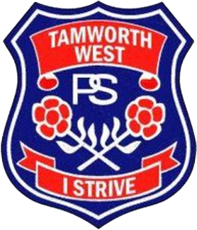 Tamworth West Public School logo